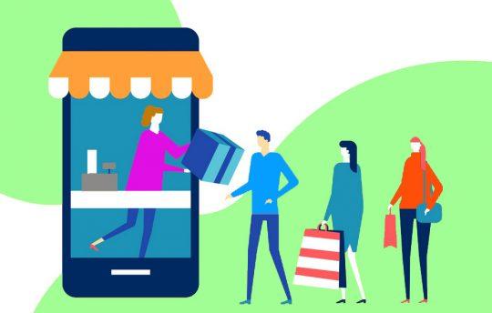 Le click and collect, retrait en magasin, cliqué-retiré, service cliquer et ramasser, clique et rapplique, ramassage en magasin ou drive piéton, est un service permettant aux consommateurs de commander en ligne pour ensuite retirer leur article dans un magasin de proximité